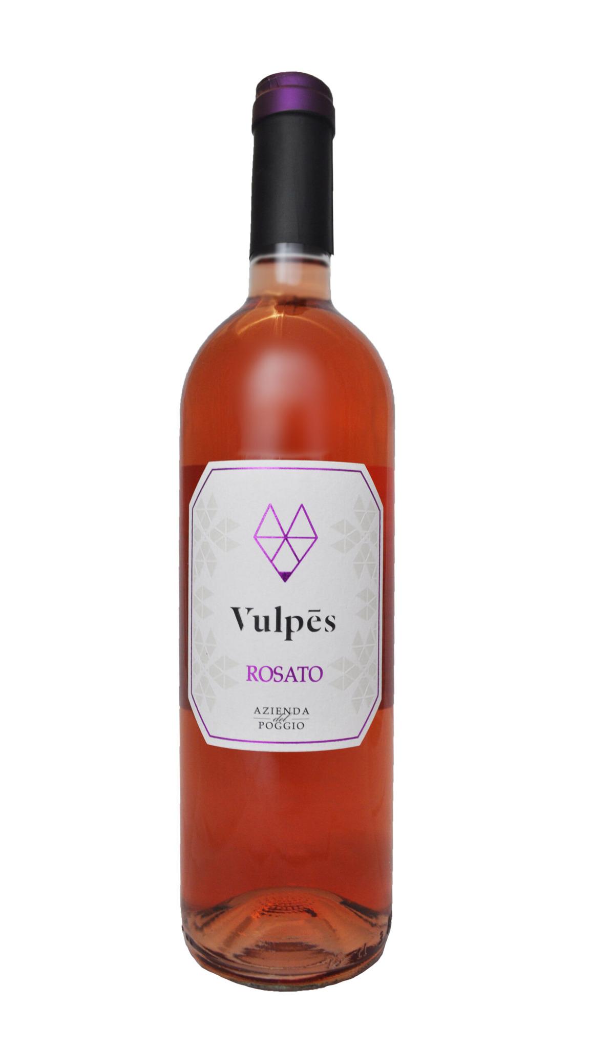 Vulpes rosato - Azienda del Poggio - FVG - vino italiano